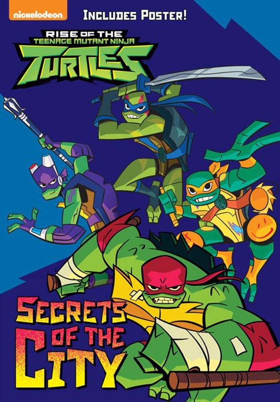 Nickelodeon's 'Rise of the Teenage Mutant Ninja Turtles' Gets Annecy First Look