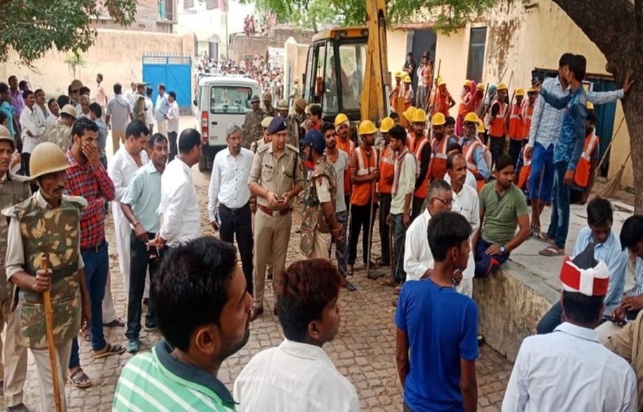 NDMA conducts mock exercise in Uttar Pradesh on flood preparedness
