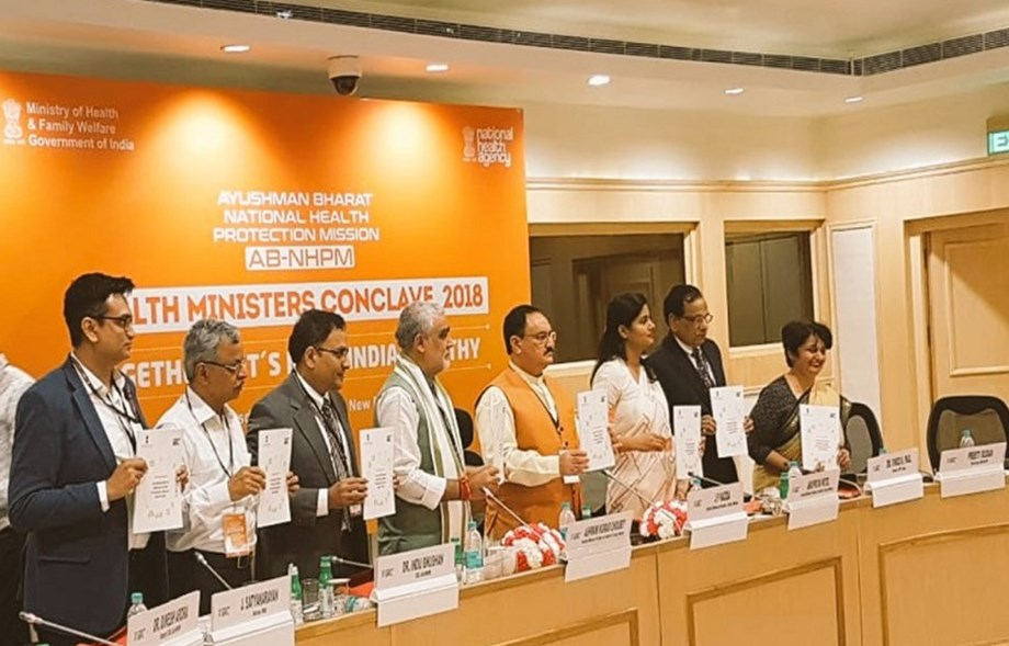 20 states sign MoU for Ayushman Bharat implementation