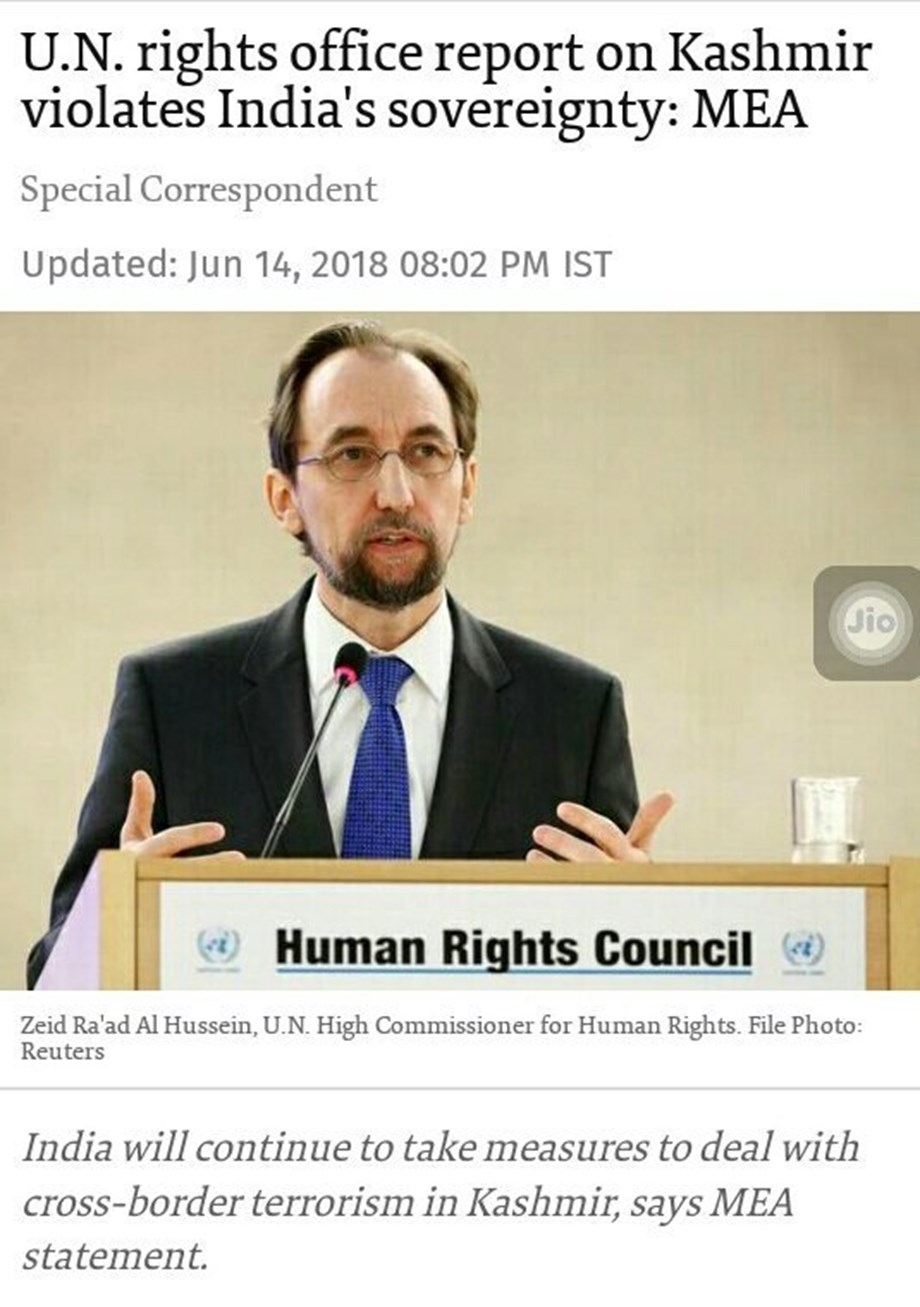 UN to set up a commission of inquiry into Kashmir violations