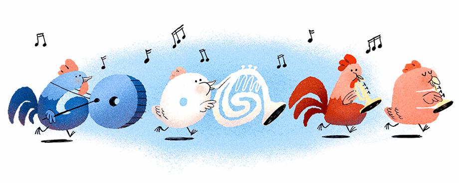 Google Doodle honours Bastille Day