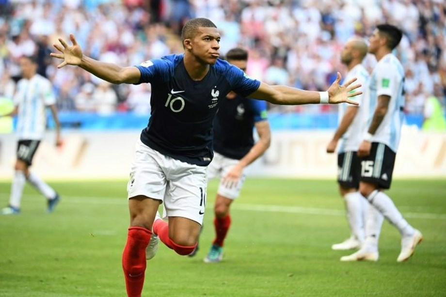 Croatia's Luka stands in France's Mbappe's World Cup glory