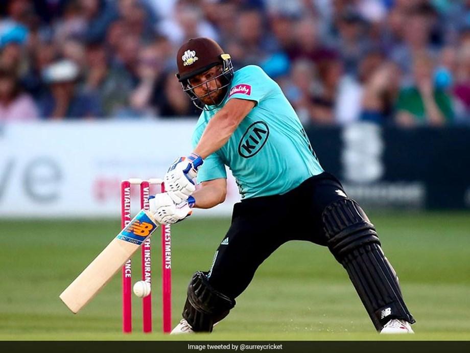 Aaron Finch's unbeaten 131, highest score by a Surrey batsman in T20