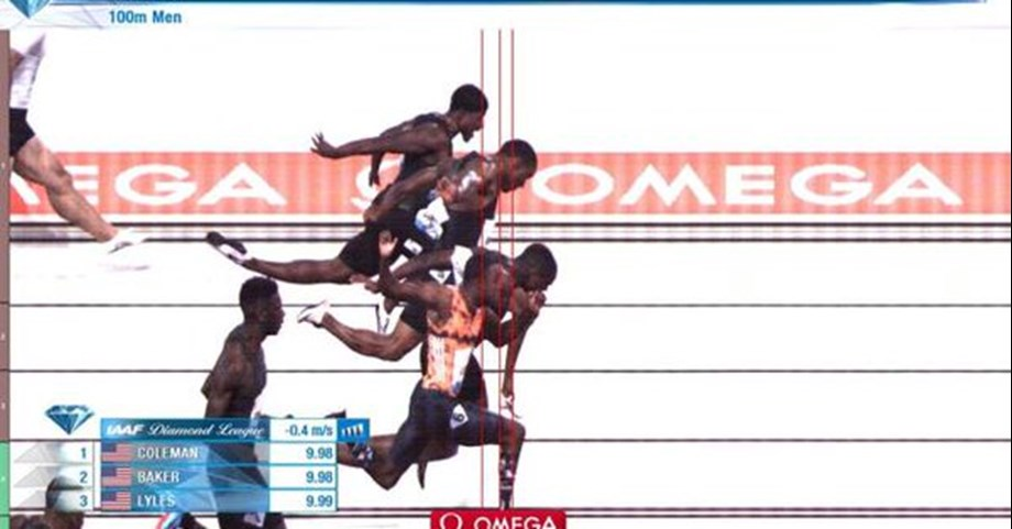 Christian Coleman signs recovery to beat fellow Americans in Rabat
