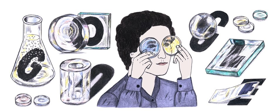 Google Doodle celebrates Marga Faulstich's 103rd Birthday