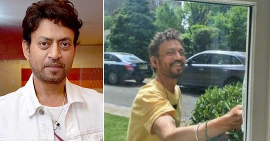 Karvaan actor Irrfan changes Twitter display picture