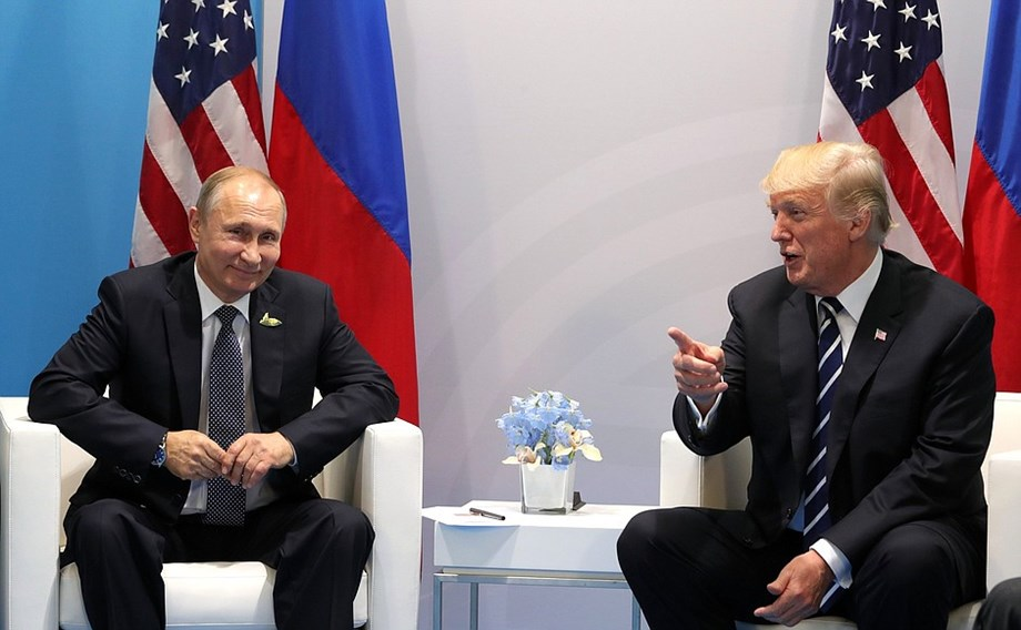 "U.S. President Trump has ""low expectations"" for Helsinki summit"