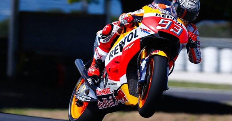 Marquez wins ninth straight German motorcycling Grand Prix