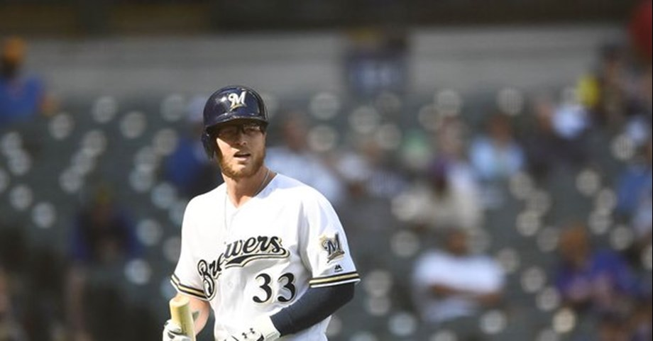 Brewers put Villar (thumb) on 10-day DL, call up Phillips