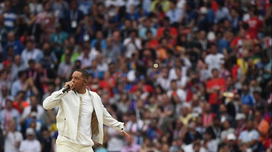 Hollywood star Will Smith brings down curtain on Russia World Cup