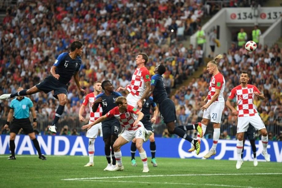 Croatia's Mandzukic scores first own goal in World Cup final