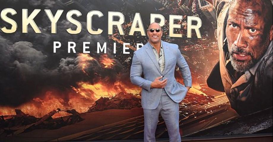 'Skyscraper' Gets Rocky Start as 'Hotel Transylvania 3' Checks In at No. 1