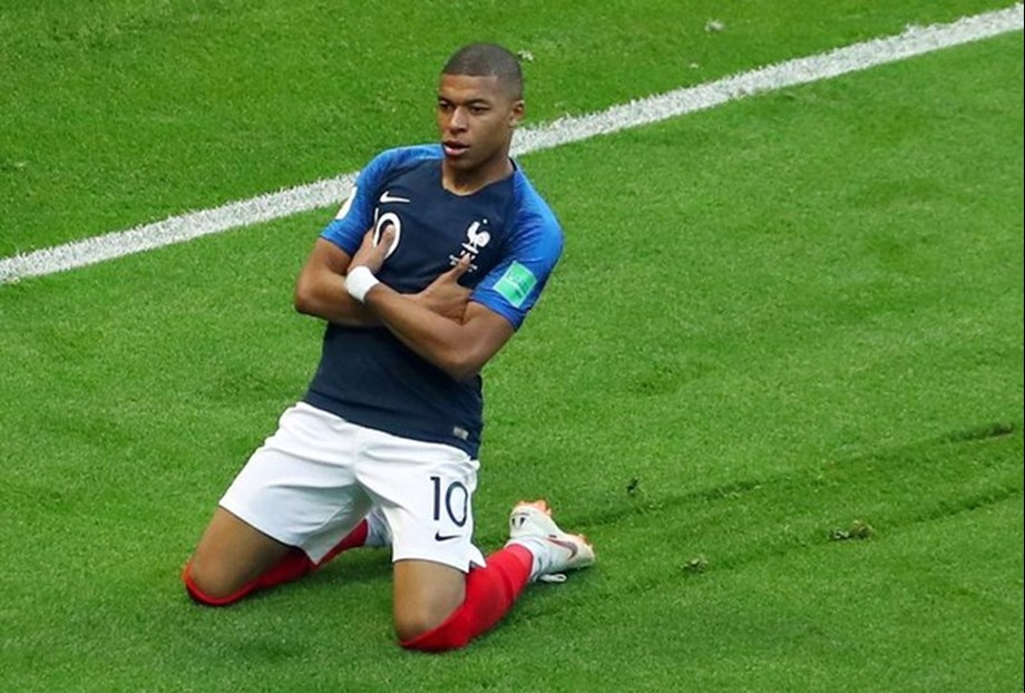 France's Mbappe becomes first teenager since Pele to score in FIFA World Cup