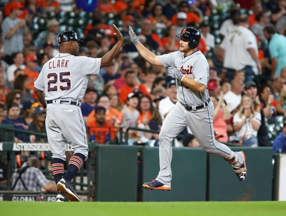 Tigers hammer Verlander, Astros in first game vs. former ace