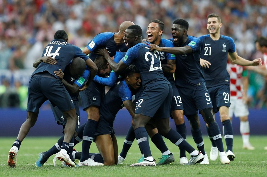 France World Cup win 'as beautiful' as 1998 victory for Didier Deschamps