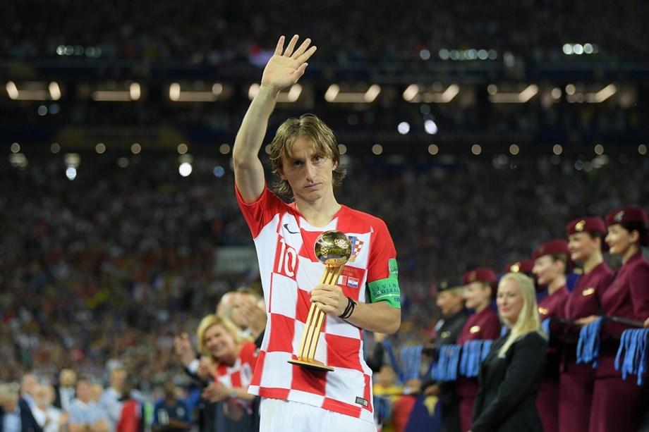 Luka Modric says Golden Ball 'bittersweet' after World Cup defeat