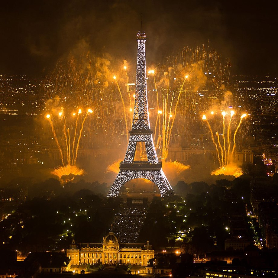 France celebrates unifying victory with flags, song, pride