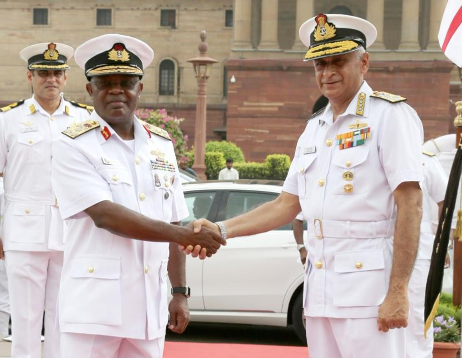 Nigerian Navy visits India to strengthen bilateral naval relations