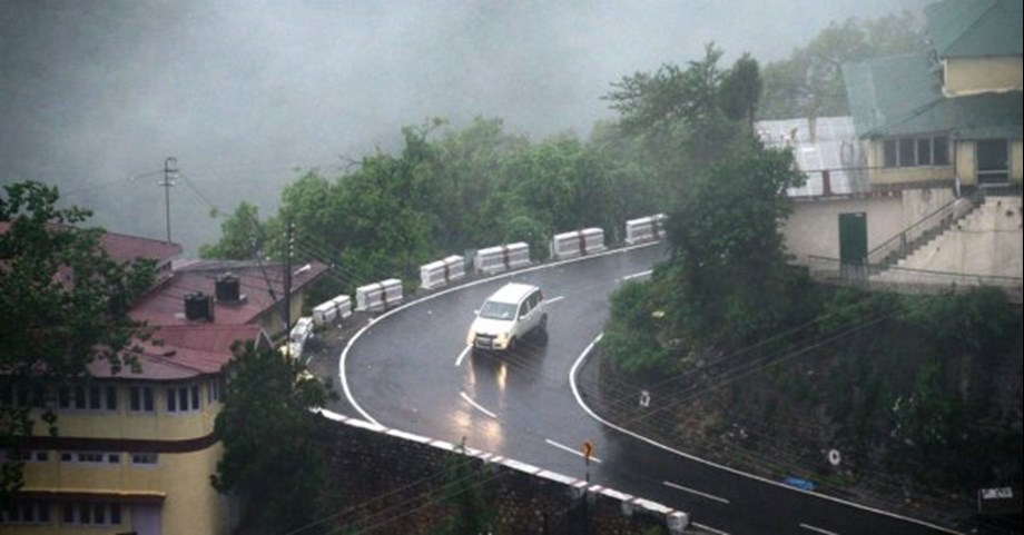 Rains lash several parts of Himachal Pradesh