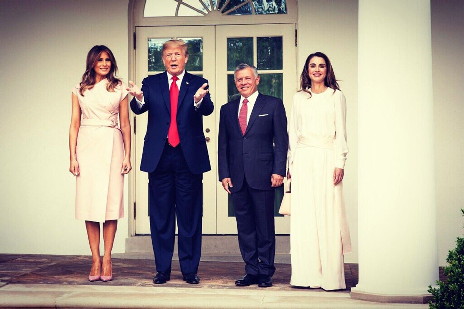 Melania Trump meets with Finnish counterpart