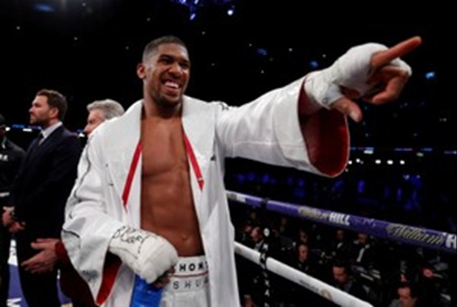 Joshua to defend world titles against Povetkin at Wembley