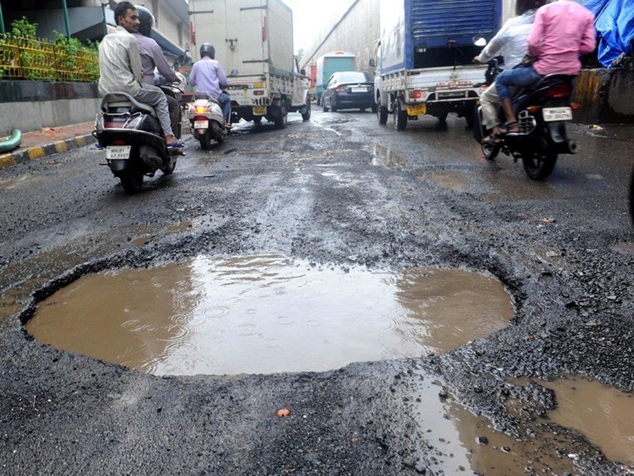 Accidents on pothole-riddled roads have claimed five lives in adjoining Thane region since last month.