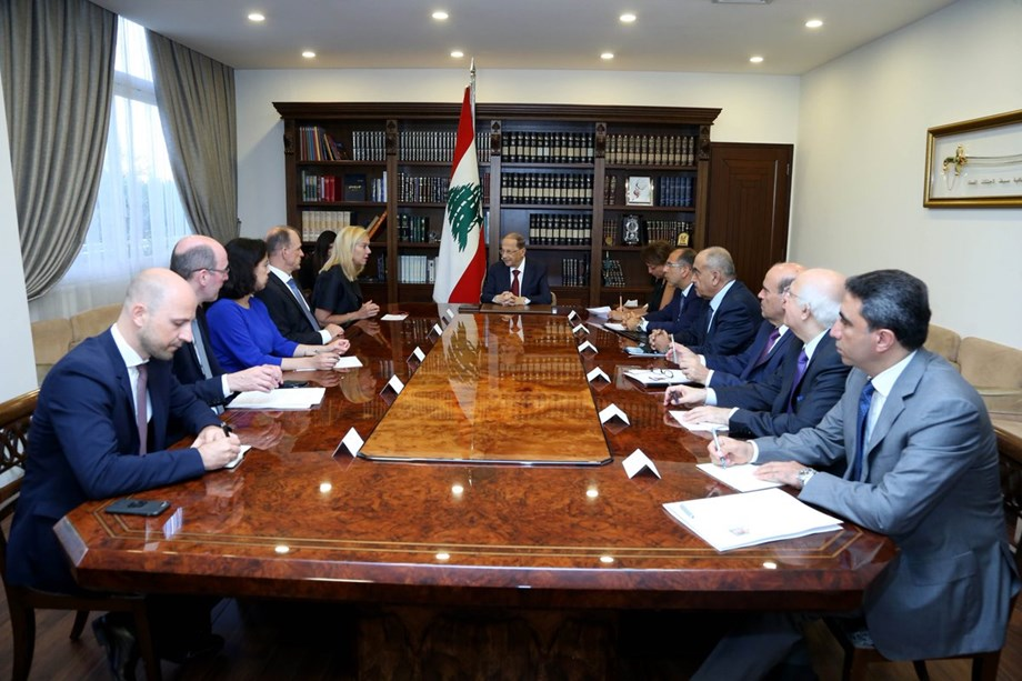 Lebanon president says US pullout from Iran deal will hurt Middle East