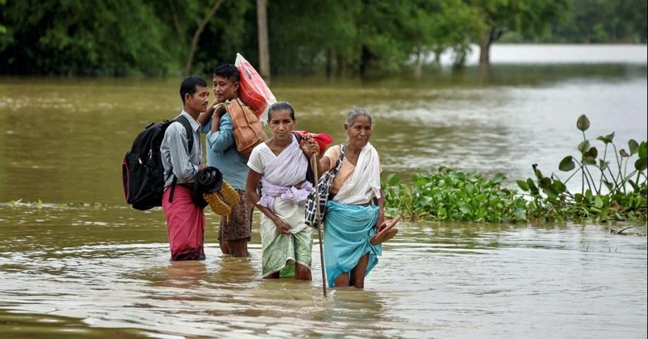 Flood alert issued in Amaravathi