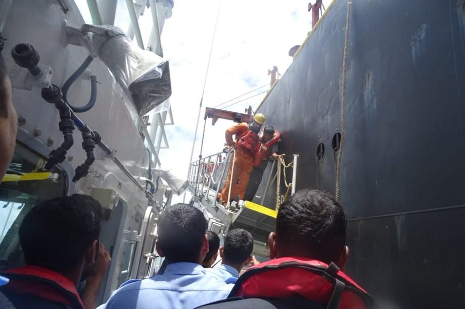 Coast Guard evacuated severely sick crew member of India-registered fuel tanker
