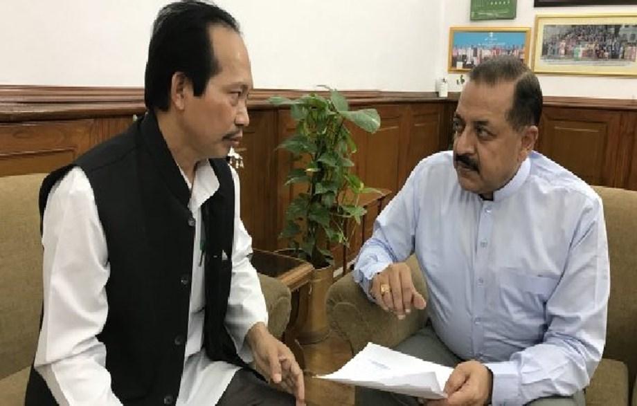 Mizoram Chakma Autonomous Council Chief calls on DoNER Minister Dr Jitendra Singh