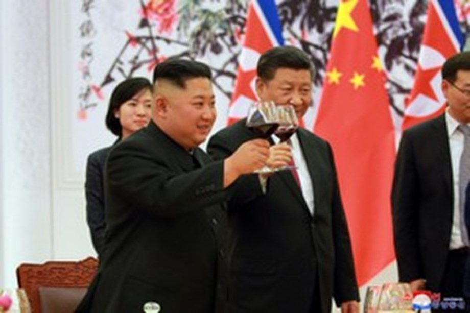 Kim and Xi discusses true peace and denuclearisation