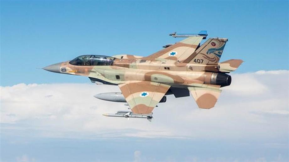 Israel air raid on Hamas targets in Gaza Strip