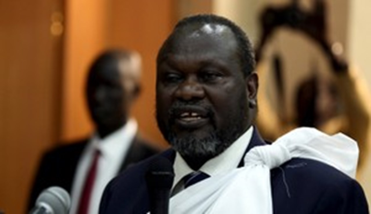South Sudan's Machar in Ethiopia for civil war end talks with President Kiir