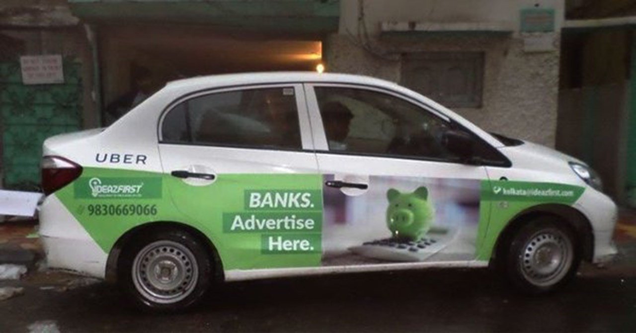 Cabrand 2.0 offers advertise with them on App based cabs