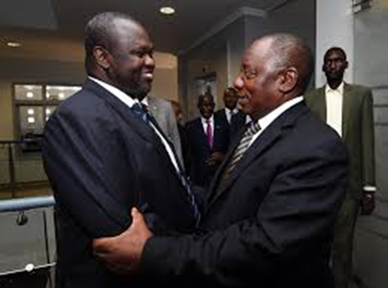 Ramaphosa consults IGAD for peace process of South Sudan in Ethiopia