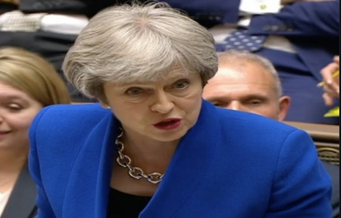 Theresa May feels images of children in cages at US migrant detention to be distrurbing