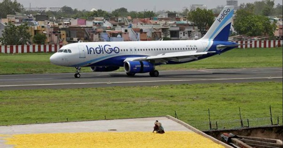 InterGlobe Aviation shares tank 7.5%; m-cap falls Rs 3,536 cr