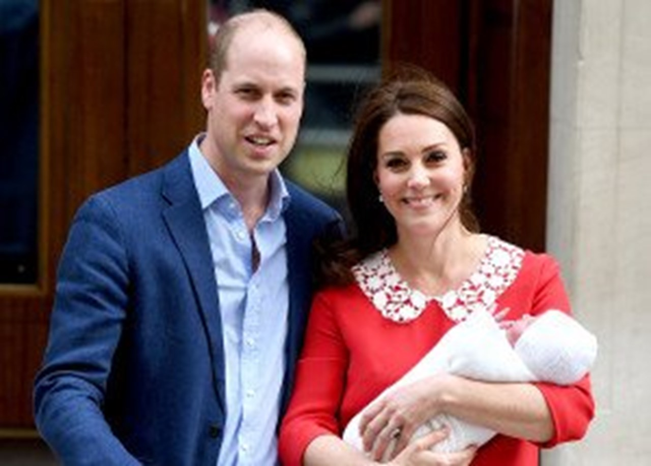 Baptism of William and Kate's second son, Louis, on July 9