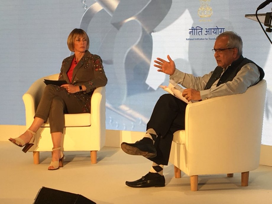 Niti Aayog is India's action tank: Rajiv Kumar