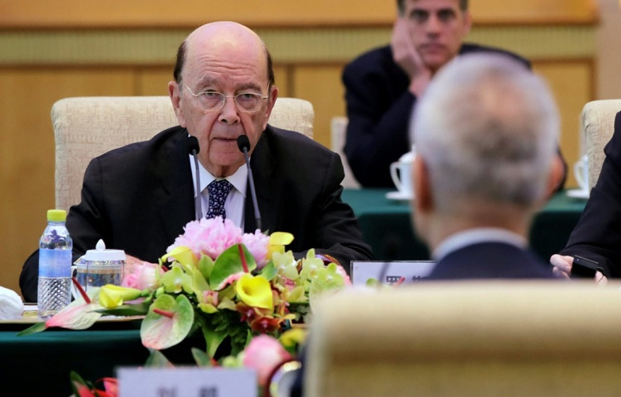 U.S. Commerce's Ross: more pressure needed for China to change trade, IP policies