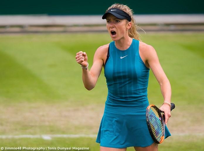 Tennis-Svitolina eases into Birmingham quarters