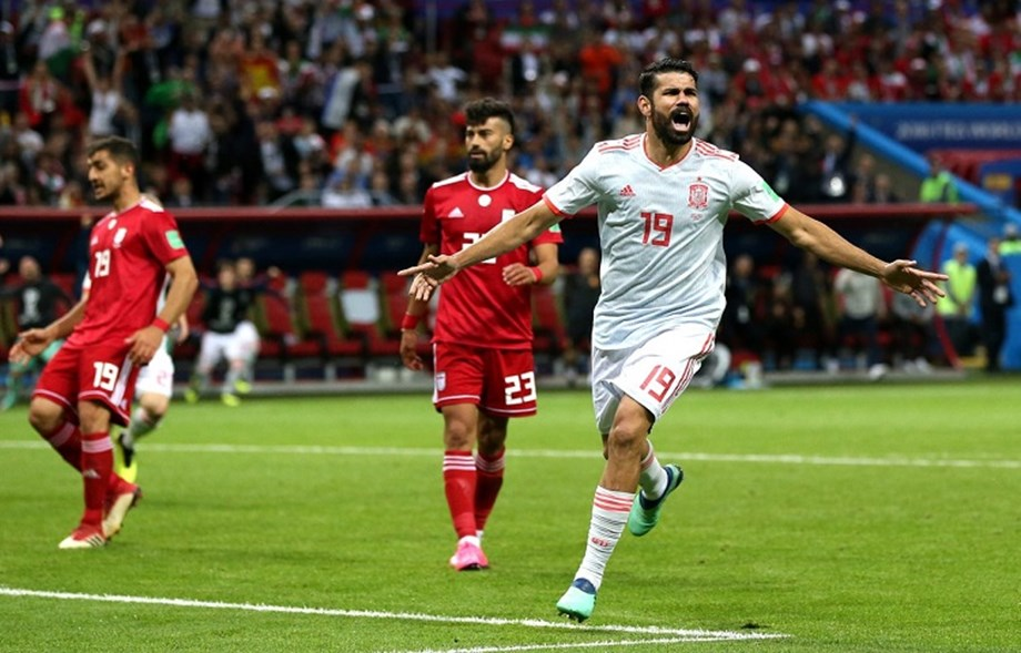 World Cup 2018, Spain vs Iran: Scrappy goal from Diego Costa gives Spain much needed win