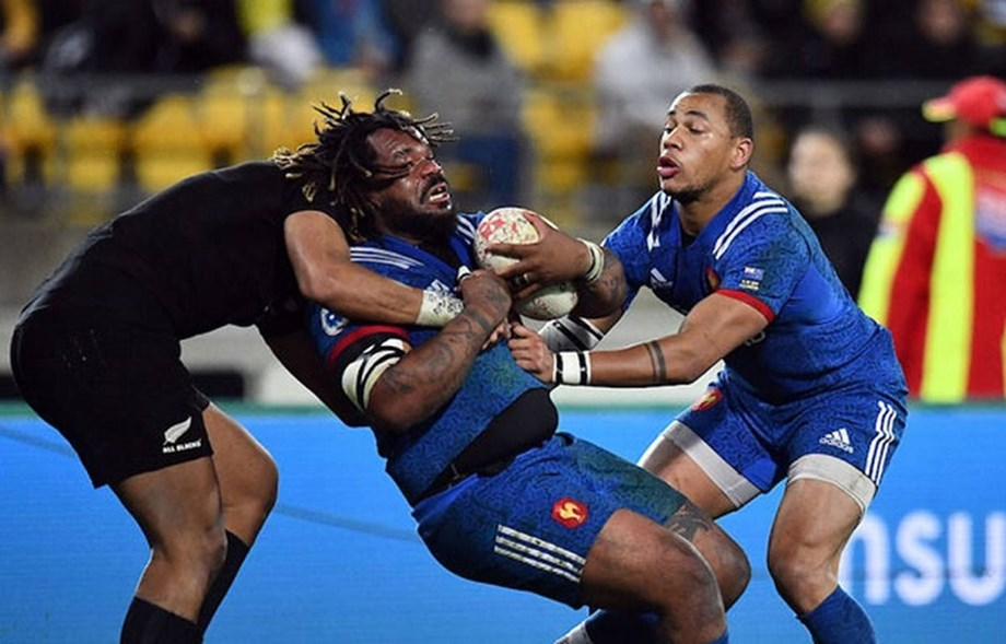 France captain Bastareaud out of third NZ test