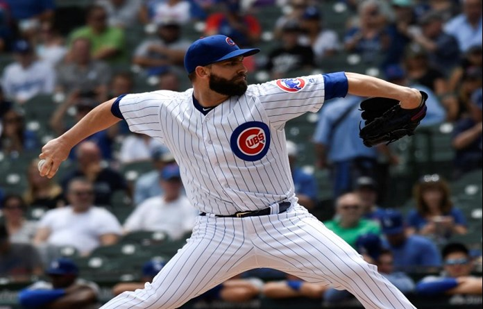 Lester brilliant as Cubs shut out Dodgers, 4-0