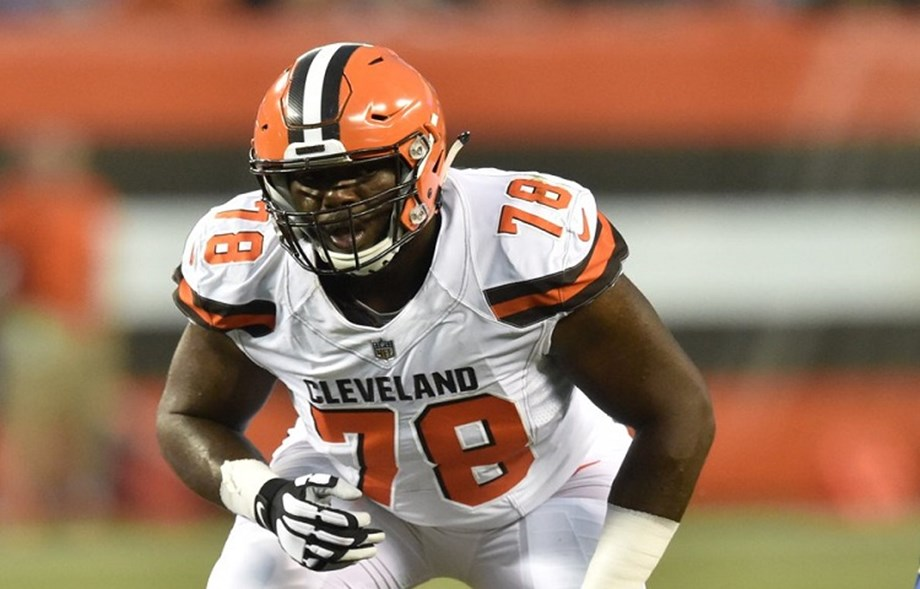 Texans claim OT Johnson off waivers from Browns