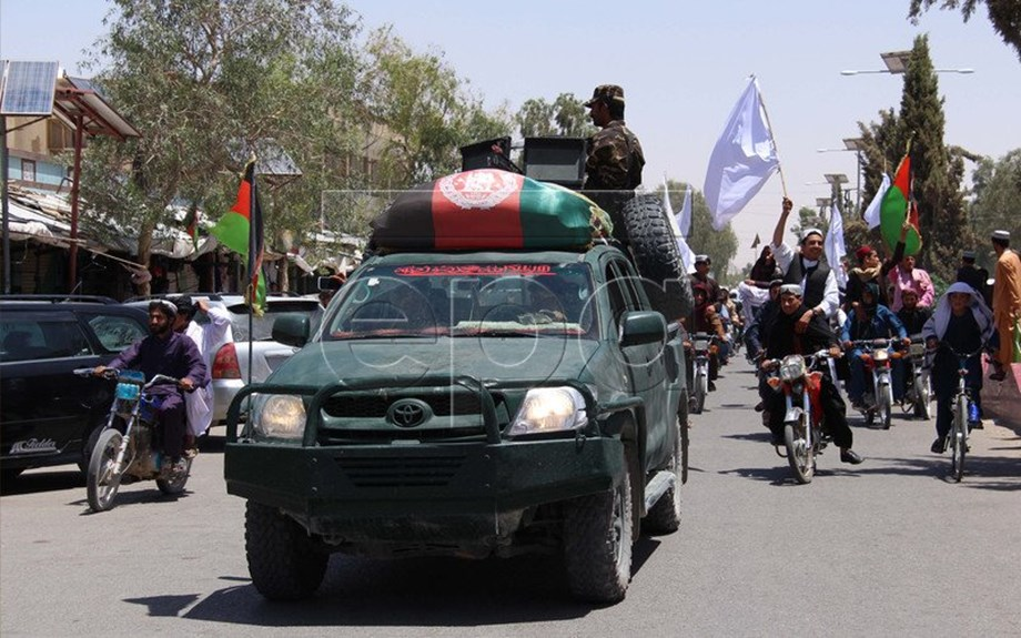 Taliban fighters launch wave of attacks in eastern Ghazni province