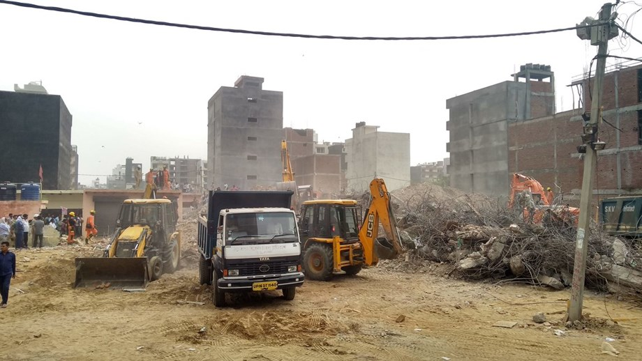 Rescuers enter day 3 at Greater Noida twin-building collapse