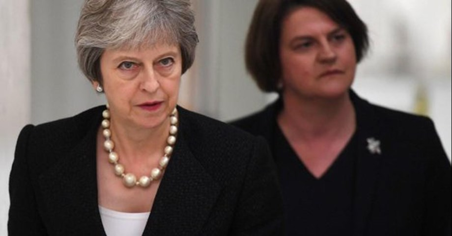 UK's PM May demands new deal from EU on Irish border backstop