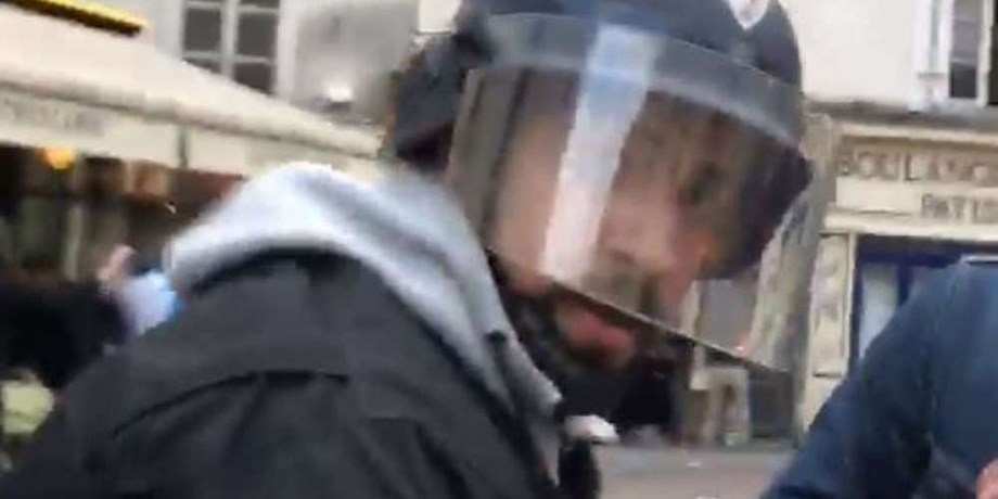 French PM Macron to fire bodyguard caught on camera beating protestor
