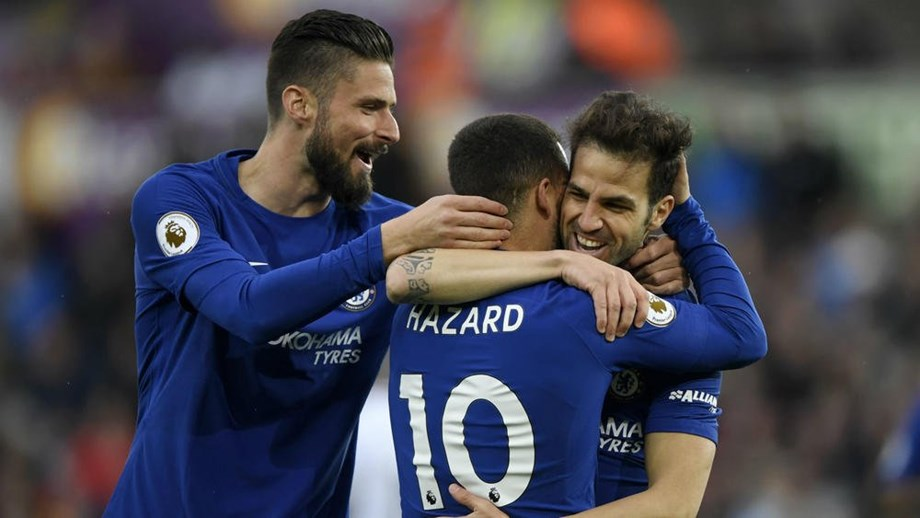 Cesc Fabregas begs Hazard to stay at Chelsea FC